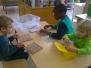 10 januari: 2de & 3de kleuter B, We spelen met vormen en kleuren