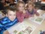 26 november : 1ste leerjaar leest voor aan 3de kleuterklas