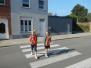 4de lj verkeersregels voor voetgangers