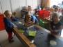 2de & 3de kleuter B, we maken kennis met de hoekjes van de klas