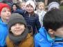 December 2017: 1ste en 2de lj beleeft sneeuwpret