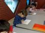 December 2017: Het 1ste leerjaar schrijft zijn 2de nieuwjaarsbrief