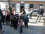 Maart 2018: Peuters en 1ste kleuters gaan kuikentjes kopen bij pluimveebedrijf 'Schouppe'