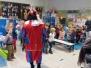 November 2017: Kleuters DMA, Verrassingsbezoekje van Zwarte Piet in onze klassen