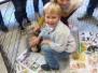 Oktober 2016 : 1ste kleuter + 2de & 3de kleuter, een poesje en een konijn op bezoek